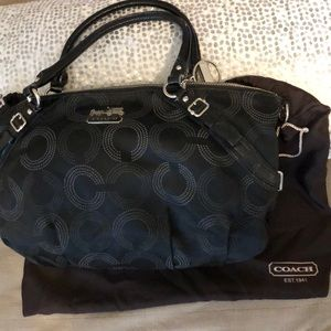 Large Coach black bag